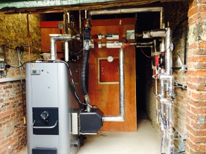 Biomass Install at Skipwith Hall, Skipwith